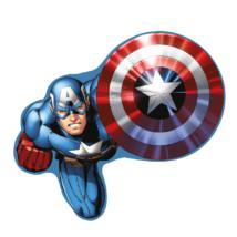 Amerika Kapitány formapárna, díszpárna