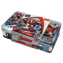 Bosszúállók fém dobozos puzzle 160 db-os
