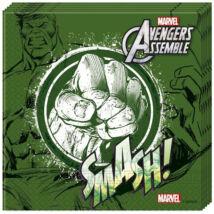 Bosszúállók - Hulk papírszalvéta