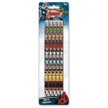Bosszúállók HB grafit ceruza szett - 5 darabos csomag