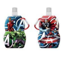Avengers - Bosszúállók összehajtható kulacs karabínerrel