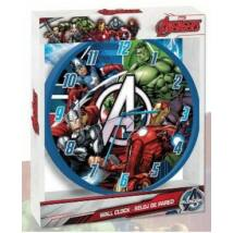 Bosszúállók falióra - Vasember, Amerika Kapitány, Hulk és Thor
