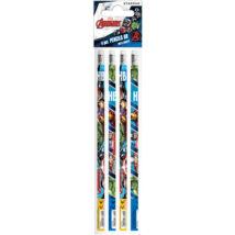 Marvel Bosszúállók grafit ceruza szett - 4 darabos készlet