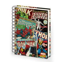 Marvel Retro Comics jegyzetfüzet - spirálos