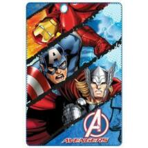 Bosszúállók polár takaró, ágytakaró - Vasember, Thor, Amerika Kapitány