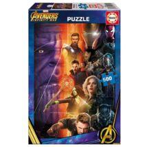 Bosszúállók: Végtelen háború puzzle 500 db-os