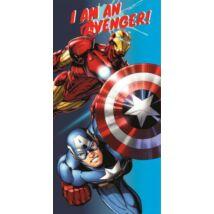 Bosszúállók törölköző, fürdőlepedő - Vasember / Amerika Kapitány