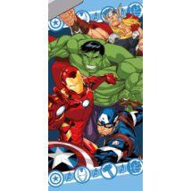 Bosszúállók törölköző, fürdőlepedő (Amerika Kapitány, Vasember, Hulk és Thor)