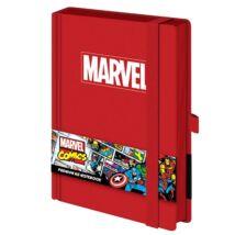 Marvel prémium jegyzetfüzet A5