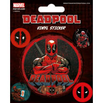 Deadpool matrica szett