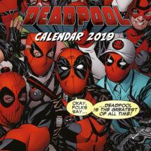 Deadpool falinaptár 2019