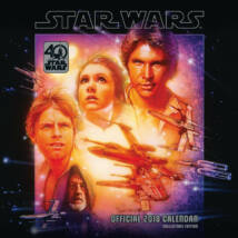 Star Wars naptár 2018 - 40 éves jubileum