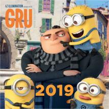 Gru - Minyonok falinaptár 2019
