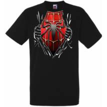 Spider-Man Szakított ing - Férfi rövid ujjú póló - Több színben