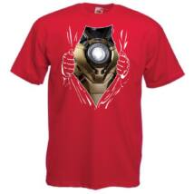 Iron Man: Szakított ing - Férfi rövid ujjú póló - Több színben