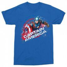 Amerika Kapitány férfi rövid ujjú póló