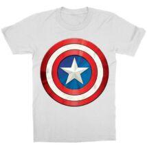 Amerika Kapitány gyerek rövid ujjú póló - A pajzs - Több színben