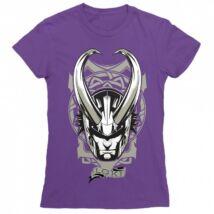 Bosszúállók - Avengers női rövid ujjú póló - Loki - Több színben