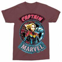 Marvel Kapitány férfi rövid ujjú póló - Two Side - Több színben