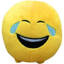 Imoji: Sírva röhögős plüss labda 11cm