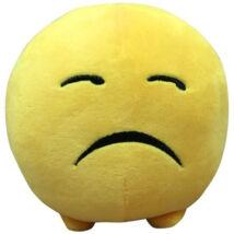 Imoji szomorú plüss labda 11cm