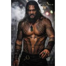 Aquaman plakát - Feltüzelve