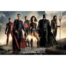 Az Igazság Ligája plakát - Karakterek