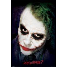A sötét lovag plakát - Joker
