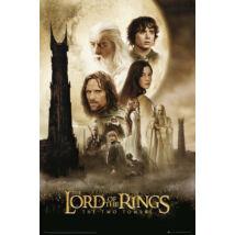 A Gyűrűk Ura: A két torony plakát