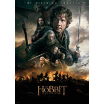 A hobbit: Az öt sereg csatája plakát - XXL méret