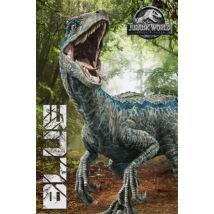 Jurassic World: Bukott birodalom plakát - Kék