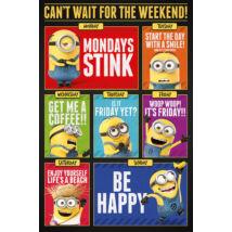 Gru - Minyonok plakát: Vár a vidám hétvége