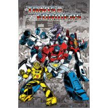 Transformers plakát - Retro Comics G1'