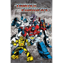 Transformers plakát - Retro Comics G1'