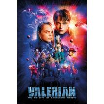 Valerian és az ezer bolygó városa plakát