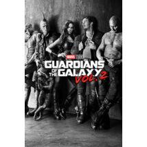 A galaxis őrzői vol. 2 plakát - Teaser