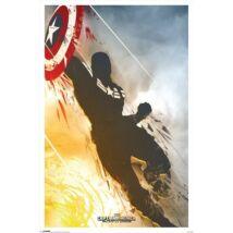 Amerika Kapitány: A tél katonája plakát - Amerika Kapitány