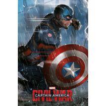 Amerika Kapitány: Polgárháború plakát - Captain America