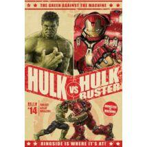 Bosszúállók: Ultron kora plakát - Hulk Vs Hulkbuster