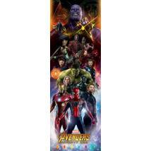 Bosszúállók: Végtelen háború plakát - A karakterek