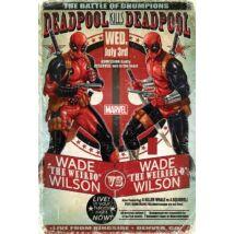 Deadpool plakát - Wade vs Wade