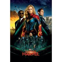 Marvel Kapitány plakát - Végleges verzió