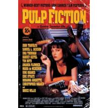 Pulp Fiction plakát - Uma On Bed