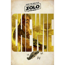 Solo: Egy Star Wars-történet plakát - Chewbacca karakterplakát