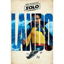 Solo: Egy Star Wars-történet plakát - Lando karakterplakát
