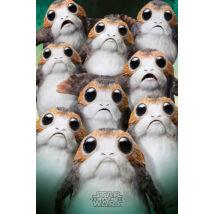 Star Wars: Az utolsó Jedik plakát - Porg