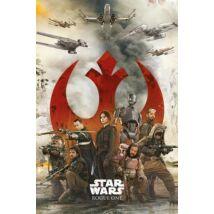 Zsivány Egyes: Egy Star Wars történet plakát - Lázadók plakát