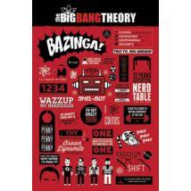 Agymenők plakát - Bazinga
