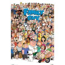 Family Guy plakát - A karakterek
