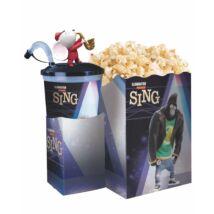 Énekelj! pohár, topper és popcorn tasak (Mike figura)